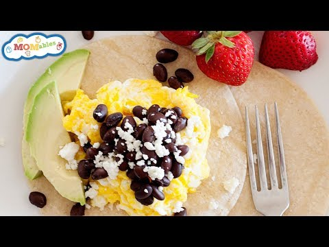 Black Beans and Queso Breakfast Tacos I Week 6 #TacoTuesday Cookbook Recipe!