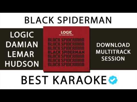 BLACK SPIDERMAN - LOGIC (KARAOKE - INSTRUMENTAL - MULTITRACK) 107