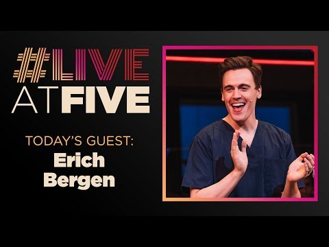 Broadway.com LiveatFive with Erich Bergen of WAITRESS