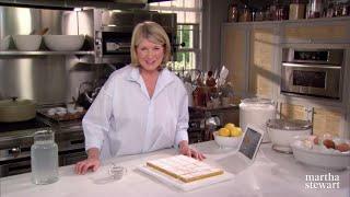 Martha Stewart's Lemon Squares Have a Fiery Secret | Martha Bakes | #Shorts