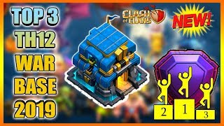 UNBEATABLE TOP 3 BEST TH12 War Base 2019 PROOF | NEW Town Hall 12 Defense Strategy | Anti Everything
