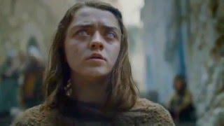 Игра престолов 6 сезон 1 серия  промо Арья