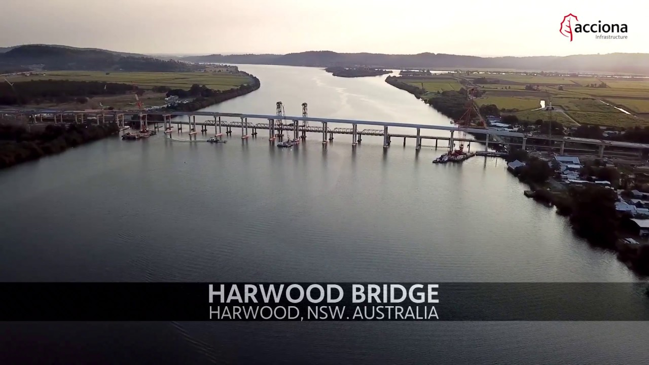 Last Girder lifted on Harwood Bridge, in Australia | ACCIONA