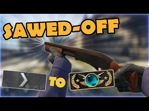 Silver 1 to Global Elite ★ Sawed off CSGO