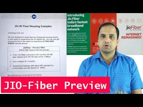 Reliance JIO fiber Preview Offer Available at ₹ 4500 at Few Cities Including NCR