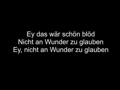 Wincent Weiss- An Wunder | Lyrics