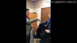 Евгений Понасенков за кулисами НТВ и сломанный палец Сергея Маркова