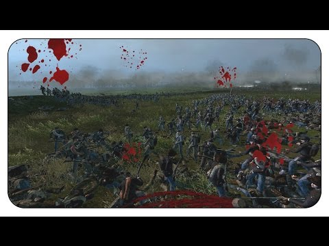 4000 UNION vs 9000 CONFEDERATES  North&South II - The American Civil War - Shogun 2 Total War