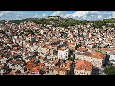 Šibenik iz zraka | Sibenik - You are beautiful