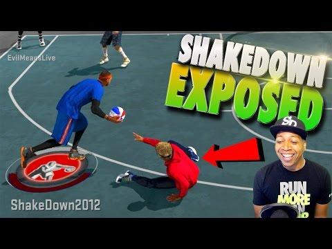 SHAKEDOWN Trash Talks Then Gets EXPOSED! - NBA 2K17 MyPark