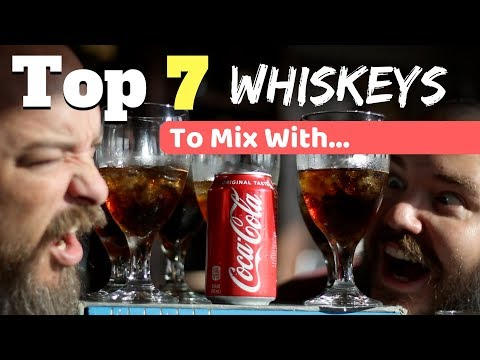 Top 7 Whiskeys To Mix With Coke  [according To Whisk(e)y Lovers]