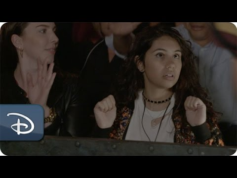 Alessia Cara Takes on the Tower of Terror...
