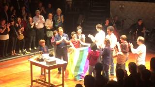 FUN HOME - First Performance After Marriage Equality Ruling - June 26, 2015