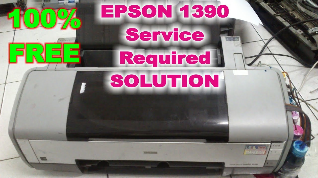 Epson L210 Ink Pad Resetter
