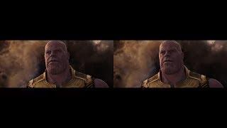 (3D ДЛЯ VR ОЧКОВ) Мстители 3  Война Бесконечности