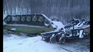 Russian Military Train Derails West of Omsk
