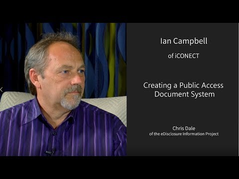 Creating a Public Access Document System with Chris Dale of the eDisclosure Information Project