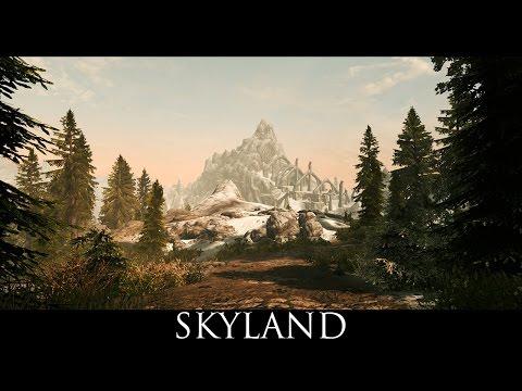 Skyrim SE Mods: Skyland - A Landscape Texture Overhaul