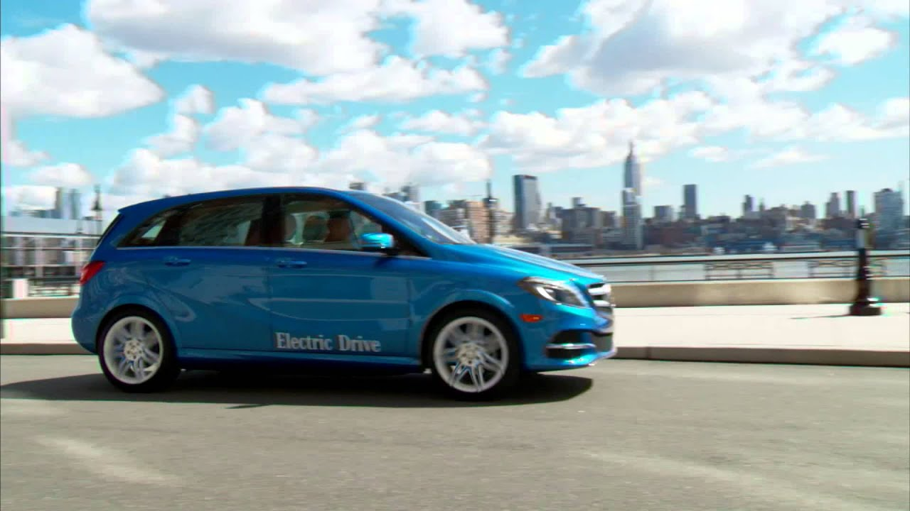 New York Auto Show Mercedes Benz Bringt B Klasse Electric Drive In