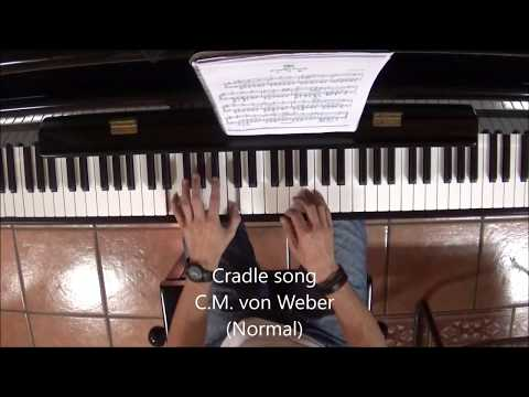 Cradle song ( Weber) Piano Tutorial Jorheral