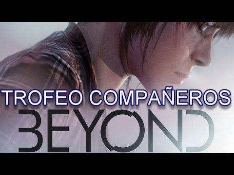 Beyond: Dos Almas Trofeo Compañeros // Beyond: Two Souls Teammates Trophy