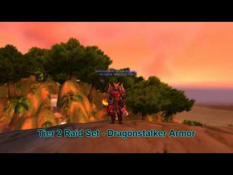 World Of Warcraft: Hunter Tier 2,4,6,7,9 Raid Sets & Arena Season 9,4,2 Sets [HD]