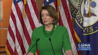 Rep. Nancy Pelosi on assurances from the White House (C-SPAN)
