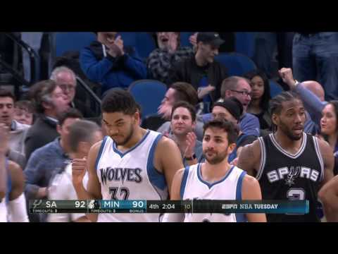 San Antonio Spurs at Minnesota Timberwolves - March 21, 2017