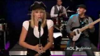 """Fanny Lu en Sesiones AOL  """"TU NO ERES PARA MI"""""""