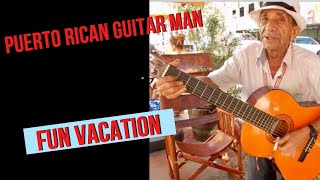 Puerto Rican Guitar man - This guy has the spirit and he's also left handed! mp3