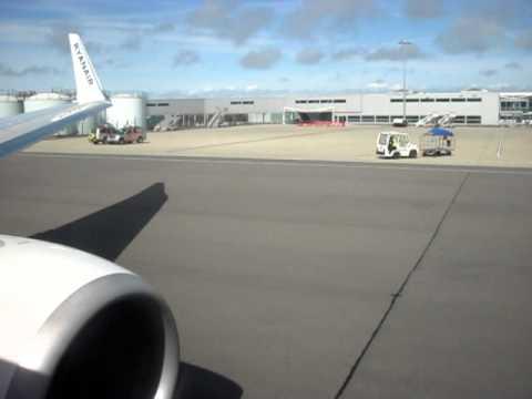 Take-Off - Bristol International - RyanAir