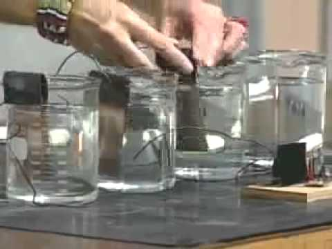 Classical Mechanics, Energy, Conversion of Energy, Chemical to Electrical Batteries, Experiment