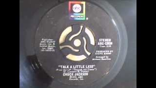 Chuck Jackson - Talk A Little Less