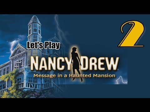 Nancy Drew 3: Message in a Haunted Mansion [02] w/YourGibs - HACK LAPTOP WITH MAZE GAME