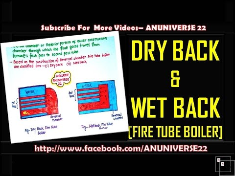 DRY BACK AND WET BACK ( FIRE TUBE BOILER) - ANUNIVERSE 22 - YouTube