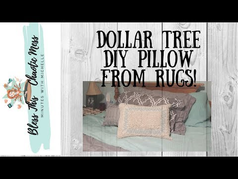 dollar-tree-diy-farmhouse-pillow-from-rugs!
