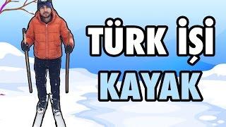 El Yapımı Kayak ile Kaydık Türk İşi Kayak