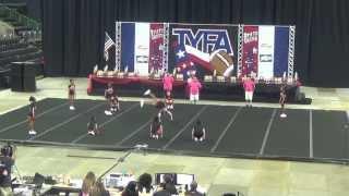 2013 Tyfa Cheer Competition- San Antonio Outlaws Intermediate