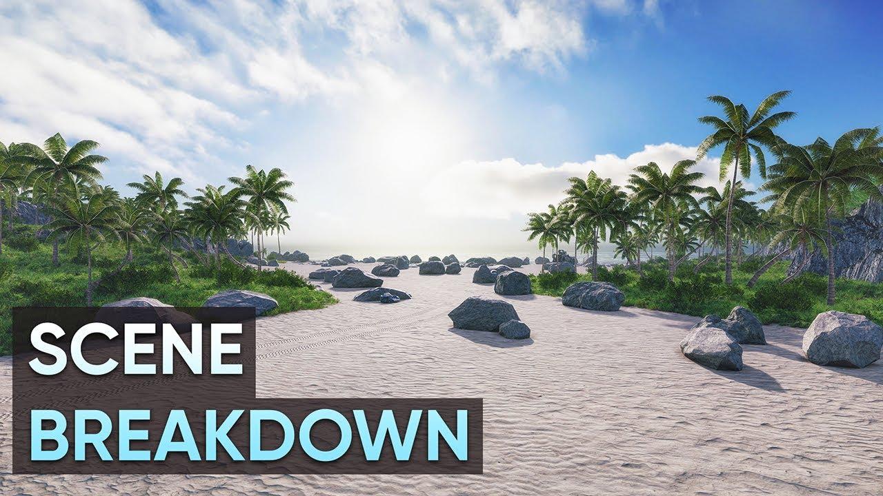 Crysis Scene Breakdown and HDRP Terrain in Unity