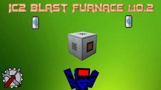 Tutorial IC2 Blast Furnace  1.10.2