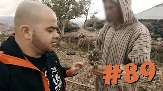 #89 Przez Świat na Fazie - Farma haszu - Jak powstaje Marokański hasz ? | Maroko, Szawszawan
