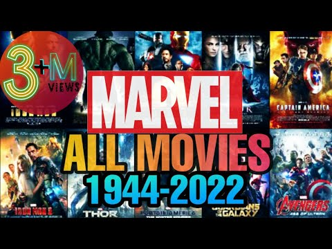 MARVEL ALL MOVIES ( 1944 - 2022 )