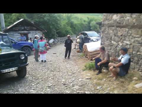 One Sunday afternoon in the village of Dolen southern Bulgaria July 2016
