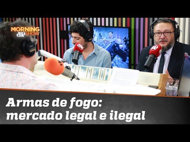 """Ativista pró-armas e integrante do Sou da Paz comentam """"fuga"""" de armas legais para bandidagem"""