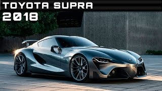 2018 Toyota Supra Review Rendered Price Specs Release Date