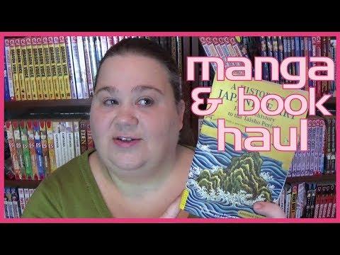 MANGA AND BOOK HAUL | art history books, Japanese literature and of course, manga!