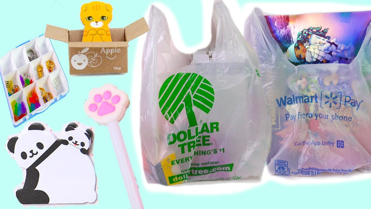 Download Shopping Haul ! Stationery + Dollar Tree Store + Walmart + Barbie