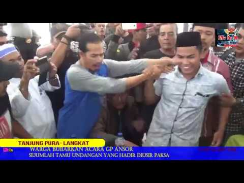 Lihat video nya! Acara GP Ansor di Usir Warga Tanjung Pura Langkat.