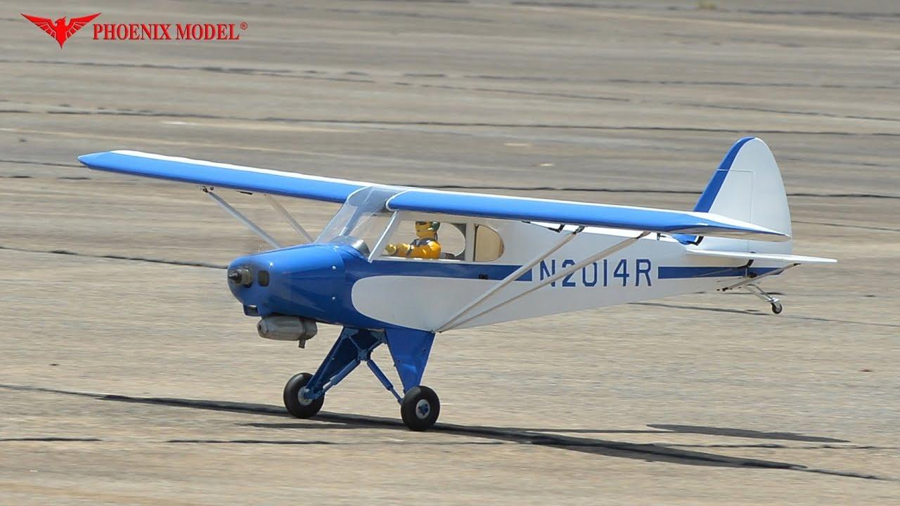 PH117 – SUPER CUB PA-18 SCALE 1:4 ½ Size 1 20/20cc ARF