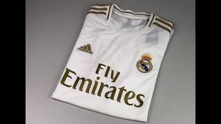 Real Madrid Home Jersey 'white/gold' | Unpacking & Worn | Football Jersey | 2019